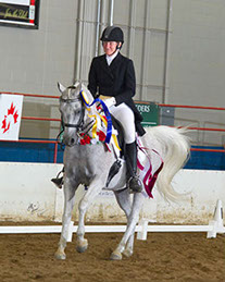 Safarr and Suzette in their Victory Pass at Canadian Nationals
